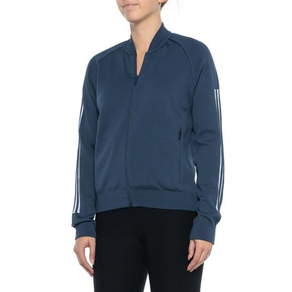Adidas Womens Large ID Bomber Jacket Coat